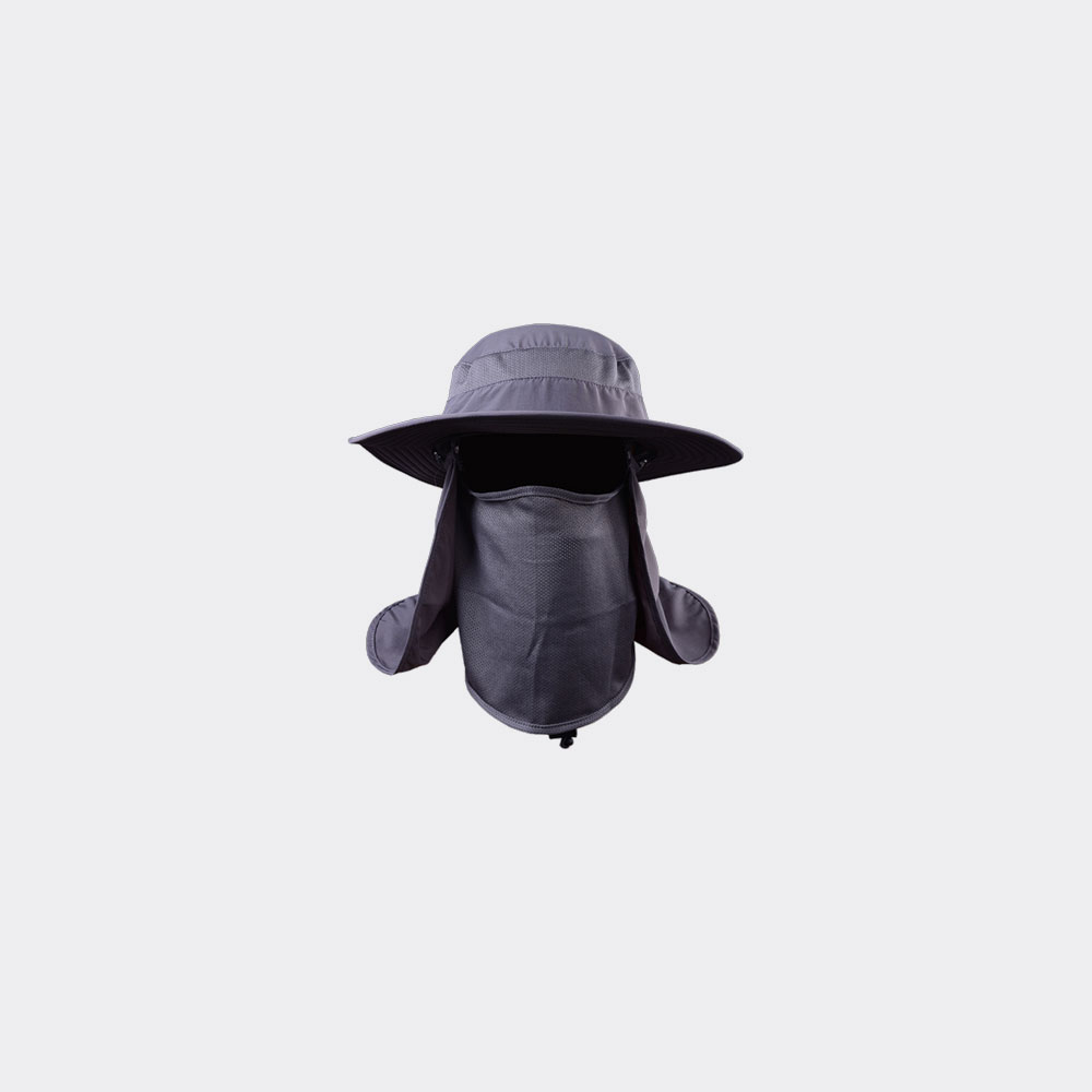 sun hat store vadar men and womens wide brim bucket hat in color grey black
