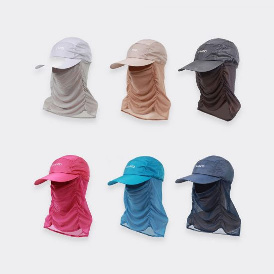 sun visor cap and neck UV sun protection colors